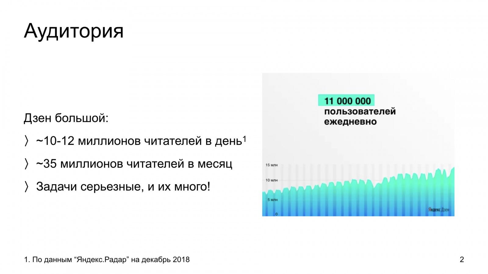 Автороцентричное ранжирование. Доклад Яндекса о поиске релевантной аудитории для авторов Дзена - 2