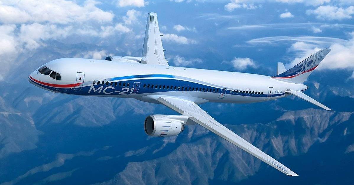 Первый полет МС-21-300