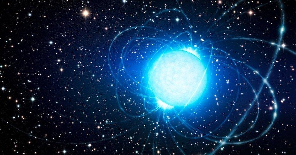 В созвездии Стрельца пробудился мощный магнитар