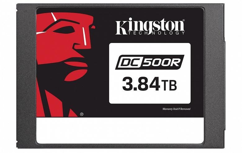 Серия твердотельных накопителей Kingston DC500R включает модели объемом до 3,84 ТБ