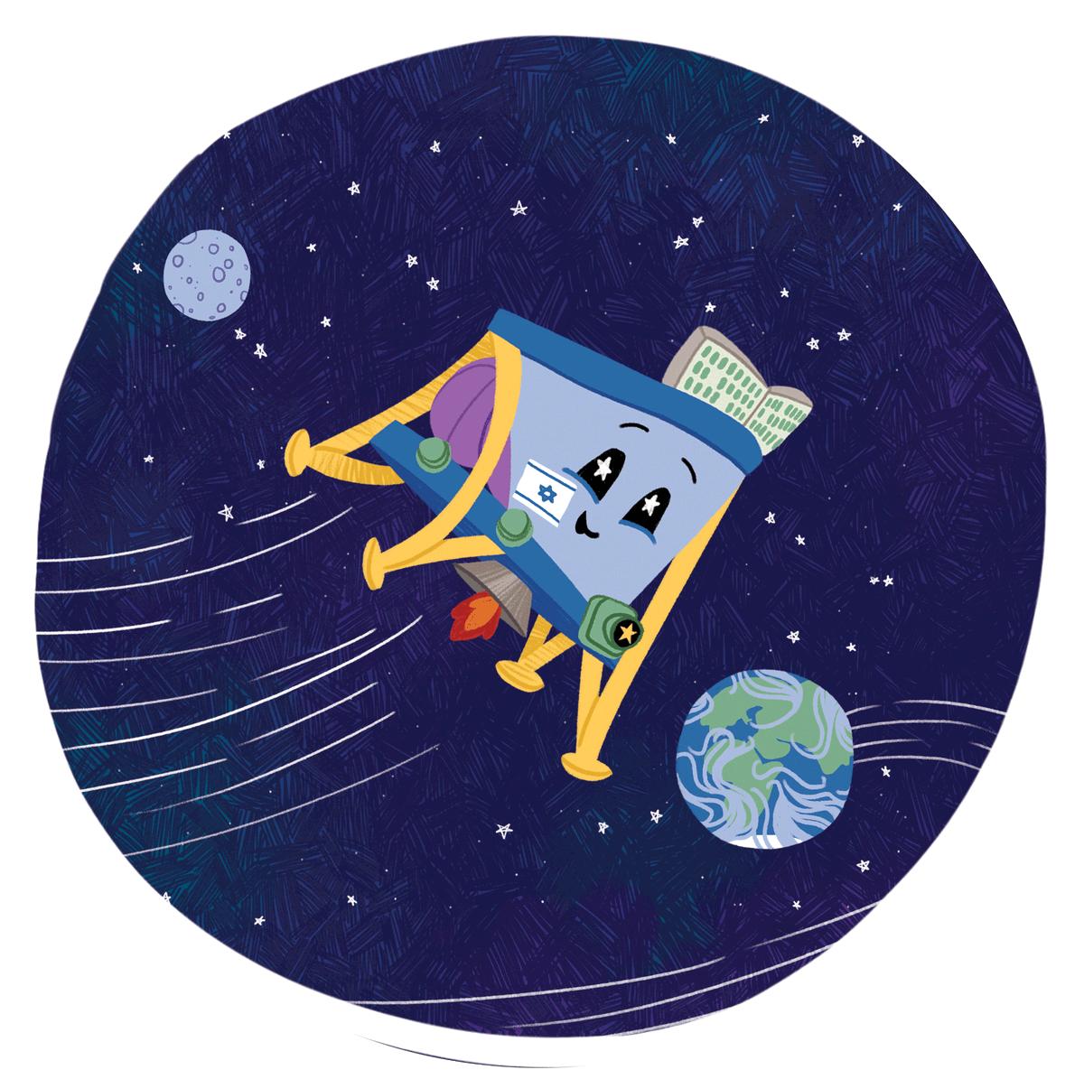 Лунная миссия «Берешит» — четвертый маневр завершен успешно, идет подготовка к выходу на Лунную орбиту - 1