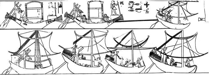 В Ниле обнаружен древний корабль, описанный Геродотом в далеком прошлом