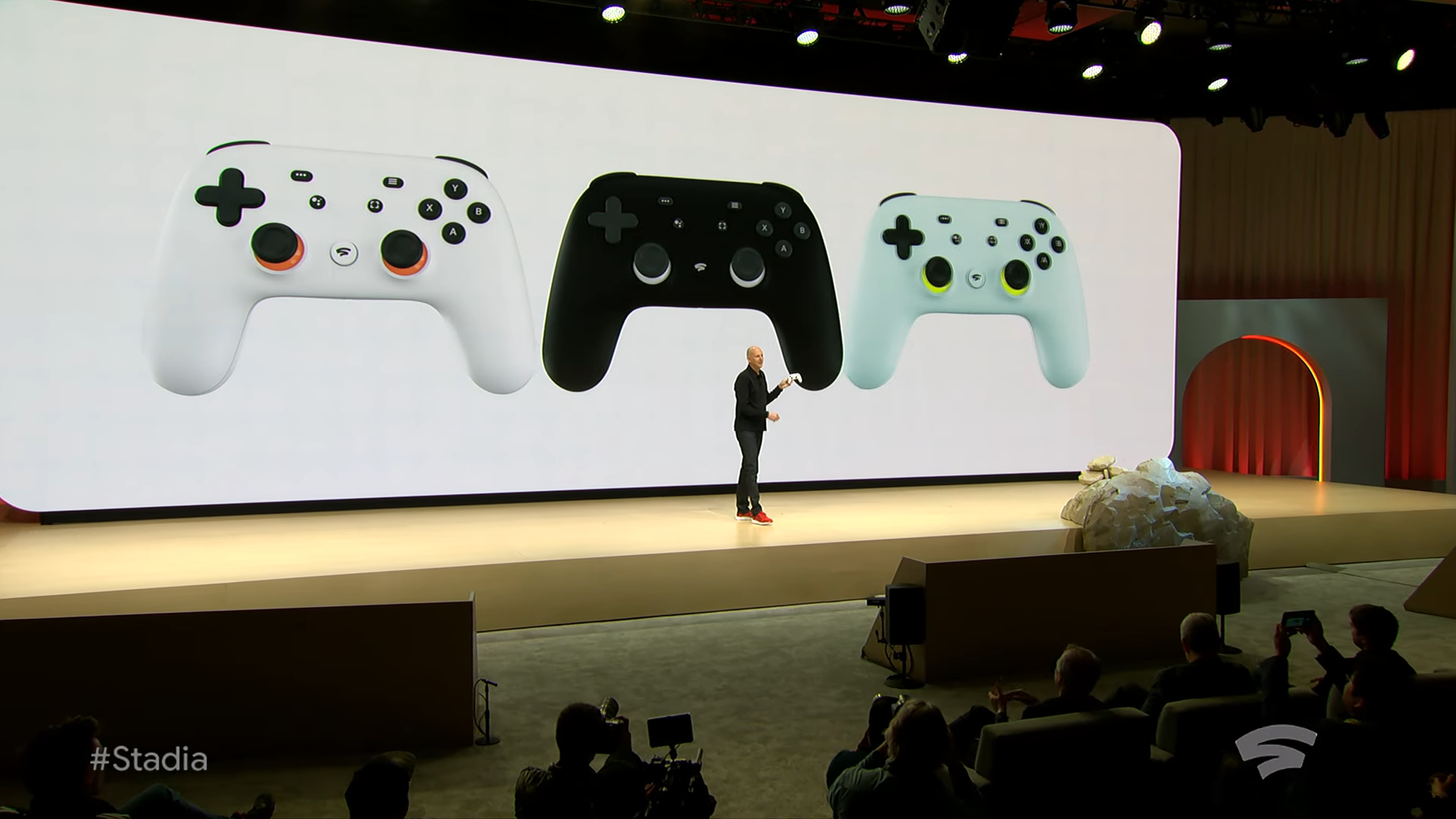 Извините, но все ваши базы принадлежат Google. Презентация Google на Game Development Conference 2019, проект Stadia - 12