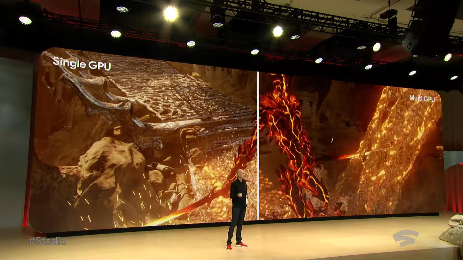 Извините, но все ваши базы принадлежат Google. Презентация Google на Game Development Conference 2019, проект Stadia - 18