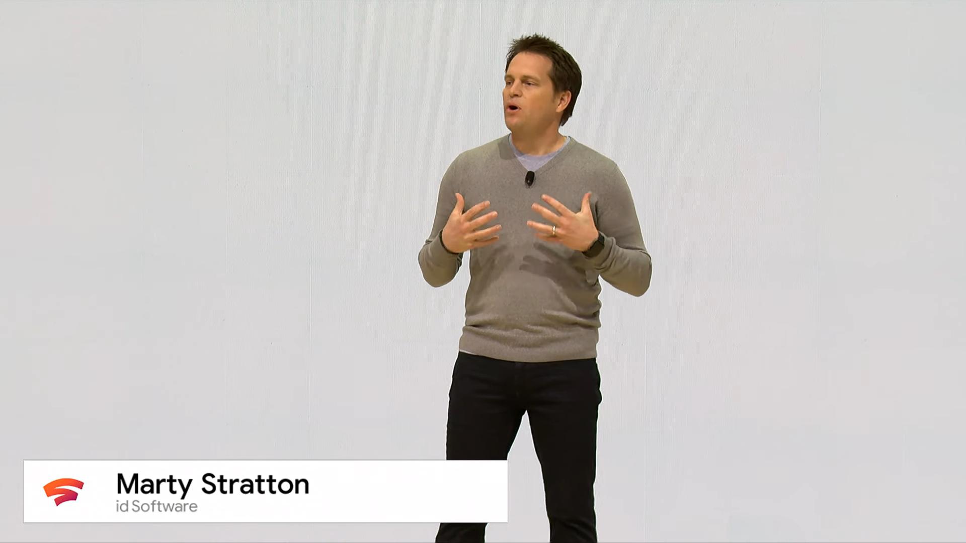 Извините, но все ваши базы принадлежат Google. Презентация Google на Game Development Conference 2019, проект Stadia - 20