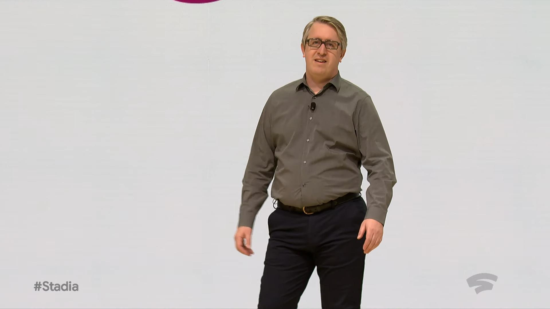 Извините, но все ваши базы принадлежат Google. Презентация Google на Game Development Conference 2019, проект Stadia - 28