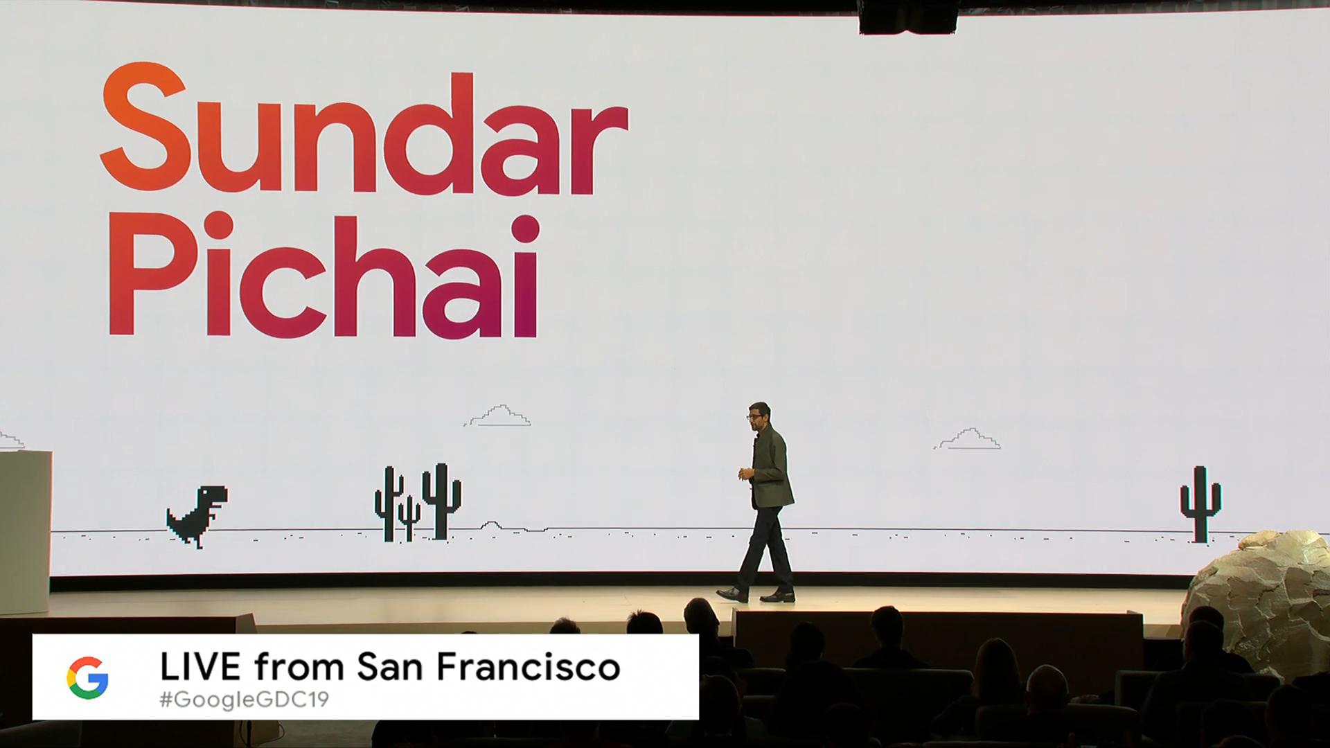 Извините, но все ваши базы принадлежат Google. Презентация Google на Game Development Conference 2019, проект Stadia - 3