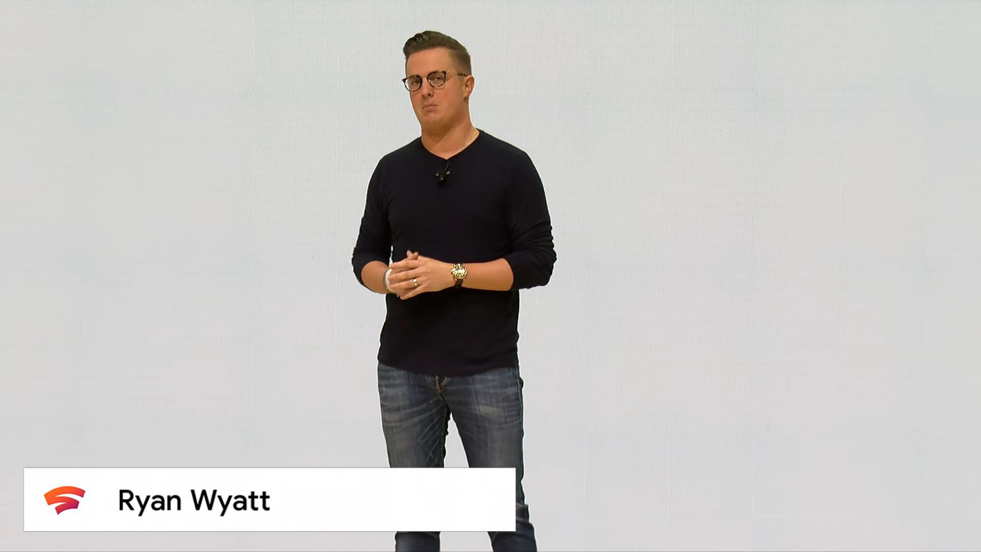 Извините, но все ваши базы принадлежат Google. Презентация Google на Game Development Conference 2019, проект Stadia - 30