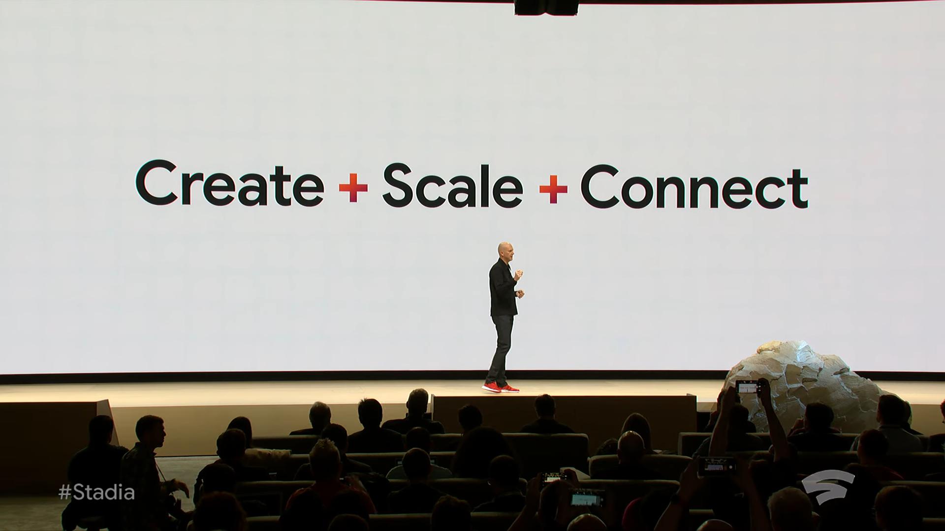Извините, но все ваши базы принадлежат Google. Презентация Google на Game Development Conference 2019, проект Stadia - 8