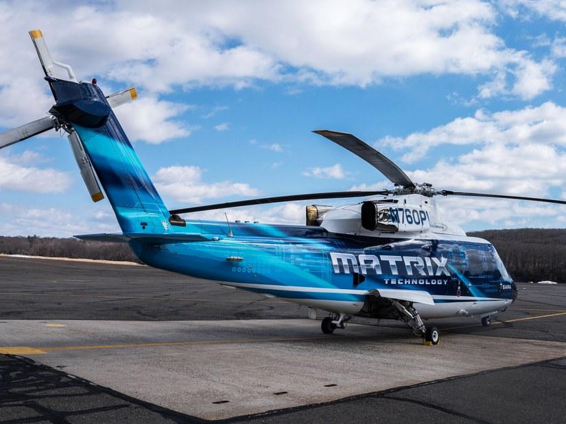 Компания Sikorsky провела демонстрацию беспилотного вертолёта с человеком на борту - 1