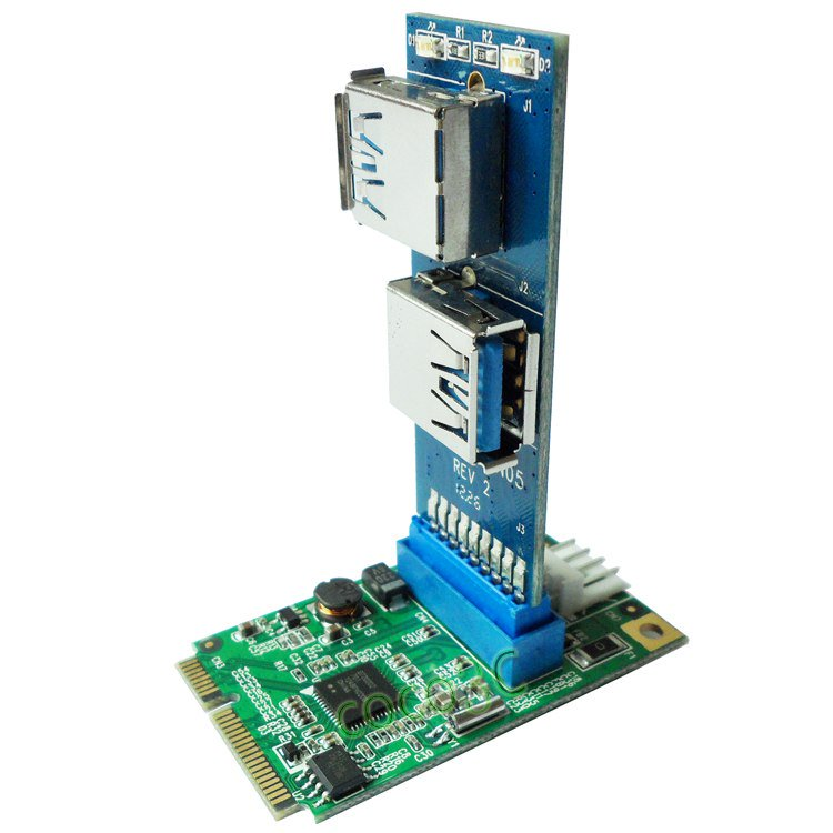 На что способен формат Mini PCI-e - 12
