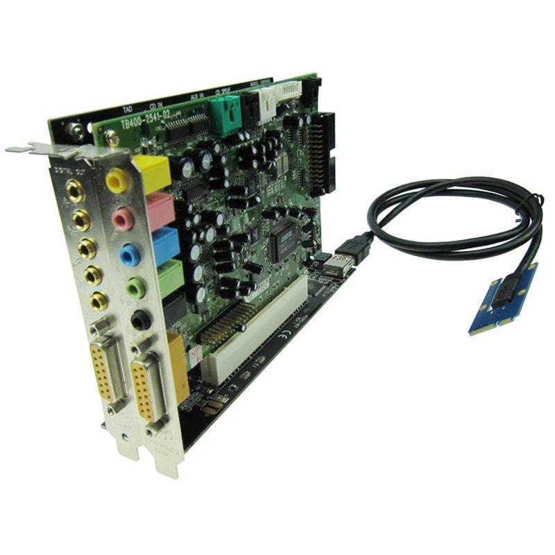 На что способен формат Mini PCI-e - 15