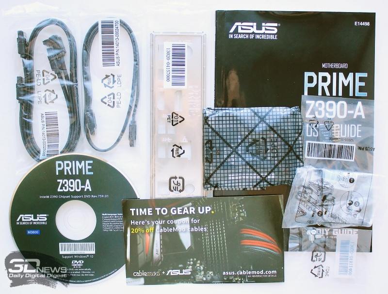 Новая статья: Обзор и тестирование материнской платы ASUS Prime Z390-A