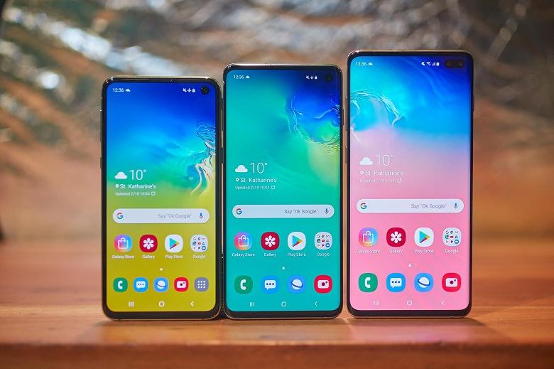 Новые данные об успехе Samsung Galaxy S10