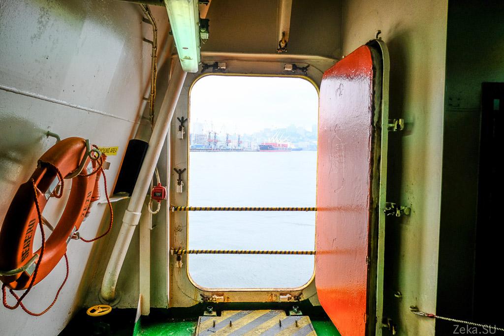 Строительство линии связи Сахалин – Курилы. Экскурсия на Segero — судно-кабелеукладчик - 18
