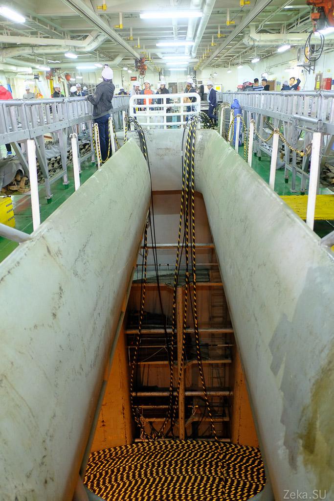 Строительство линии связи Сахалин – Курилы. Экскурсия на Segero — судно-кабелеукладчик - 25