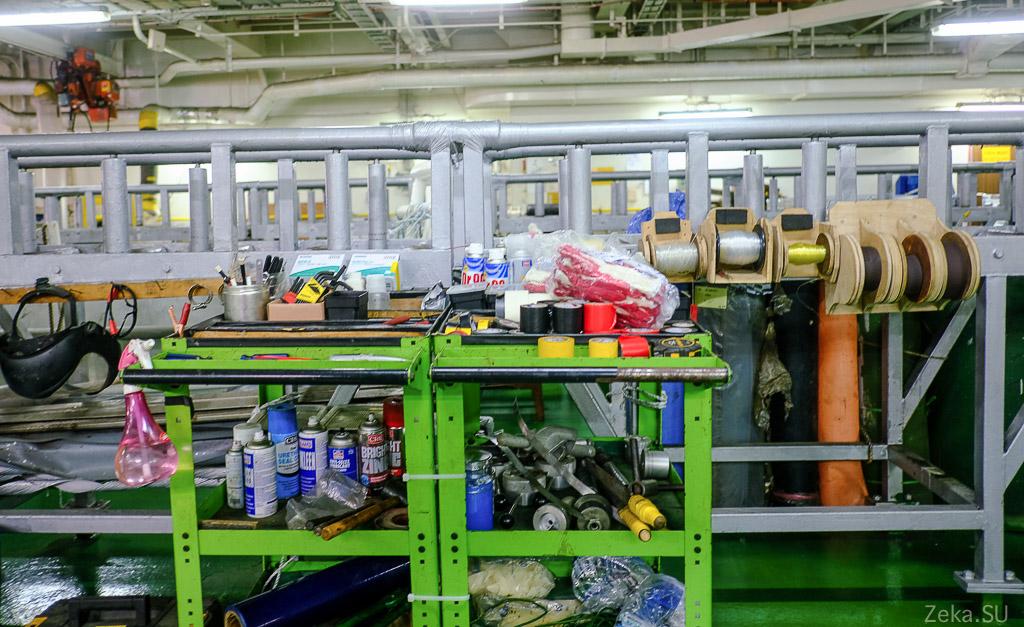 Строительство линии связи Сахалин – Курилы. Экскурсия на Segero — судно-кабелеукладчик - 26