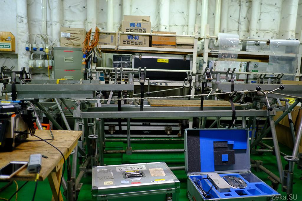 Строительство линии связи Сахалин – Курилы. Экскурсия на Segero — судно-кабелеукладчик - 29