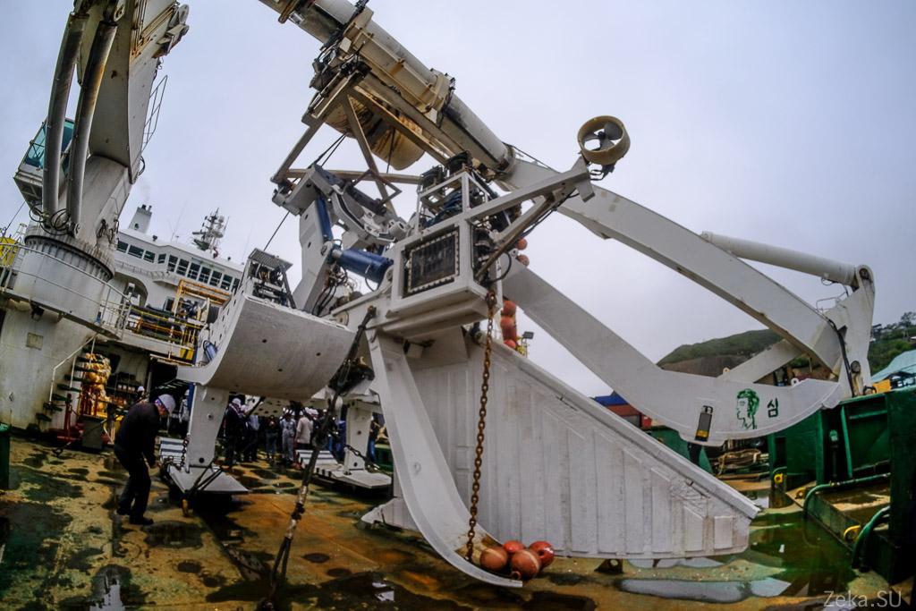 Строительство линии связи Сахалин – Курилы. Экскурсия на Segero — судно-кабелеукладчик - 41