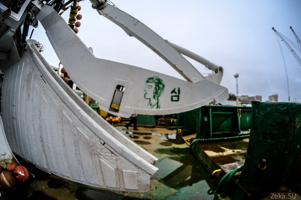 Строительство линии связи Сахалин – Курилы. Экскурсия на Segero — судно-кабелеукладчик - 42