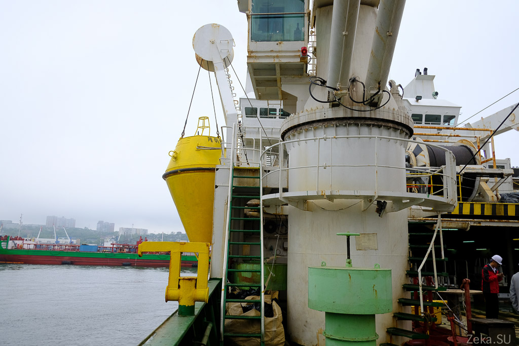 Строительство линии связи Сахалин – Курилы. Экскурсия на Segero — судно-кабелеукладчик - 52