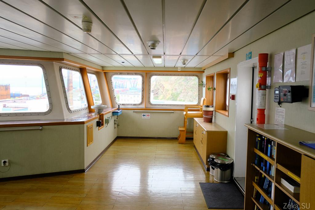 Строительство линии связи Сахалин – Курилы. Экскурсия на Segero — судно-кабелеукладчик - 61