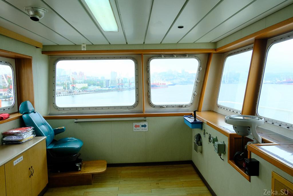 Строительство линии связи Сахалин – Курилы. Экскурсия на Segero — судно-кабелеукладчик - 62