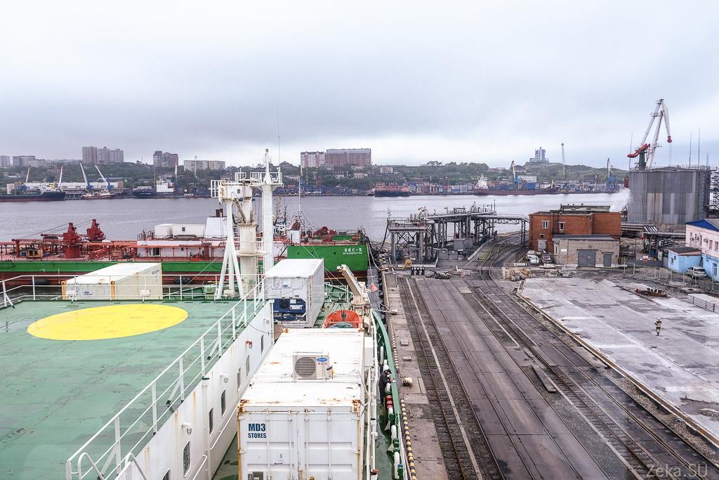 Строительство линии связи Сахалин – Курилы. Экскурсия на Segero — судно-кабелеукладчик - 63