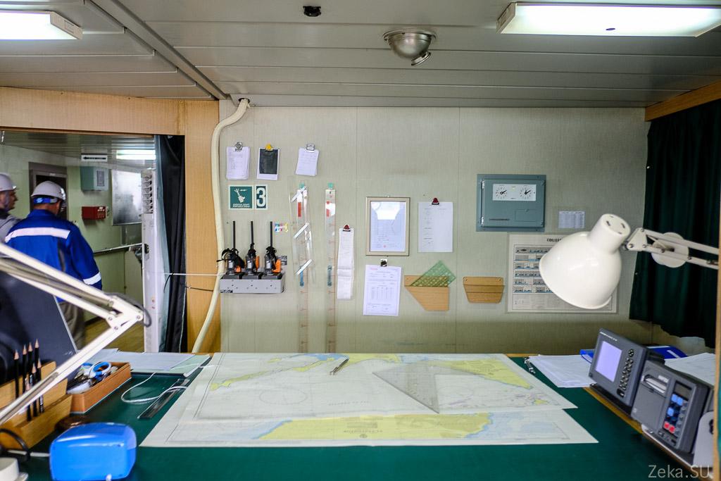 Строительство линии связи Сахалин – Курилы. Экскурсия на Segero — судно-кабелеукладчик - 66