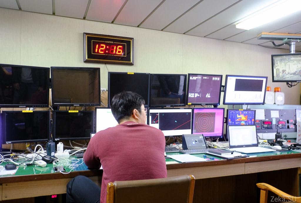 Строительство линии связи Сахалин – Курилы. Экскурсия на Segero — судно-кабелеукладчик - 72