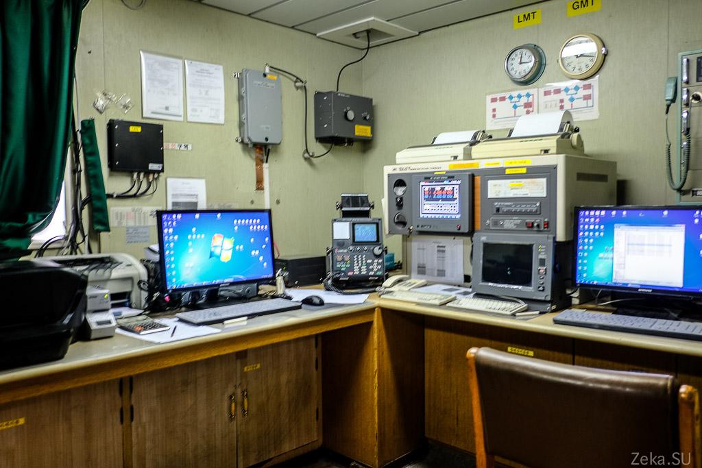 Строительство линии связи Сахалин – Курилы. Экскурсия на Segero — судно-кабелеукладчик - 73