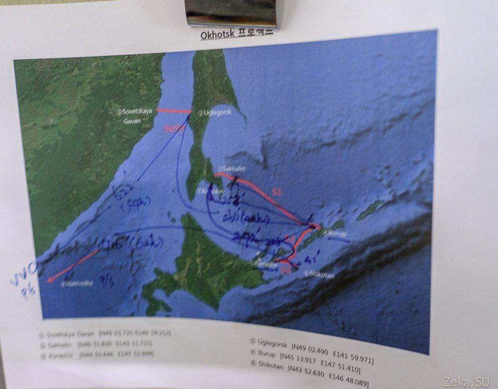 Строительство линии связи Сахалин – Курилы. Экскурсия на Segero — судно-кабелеукладчик - 74