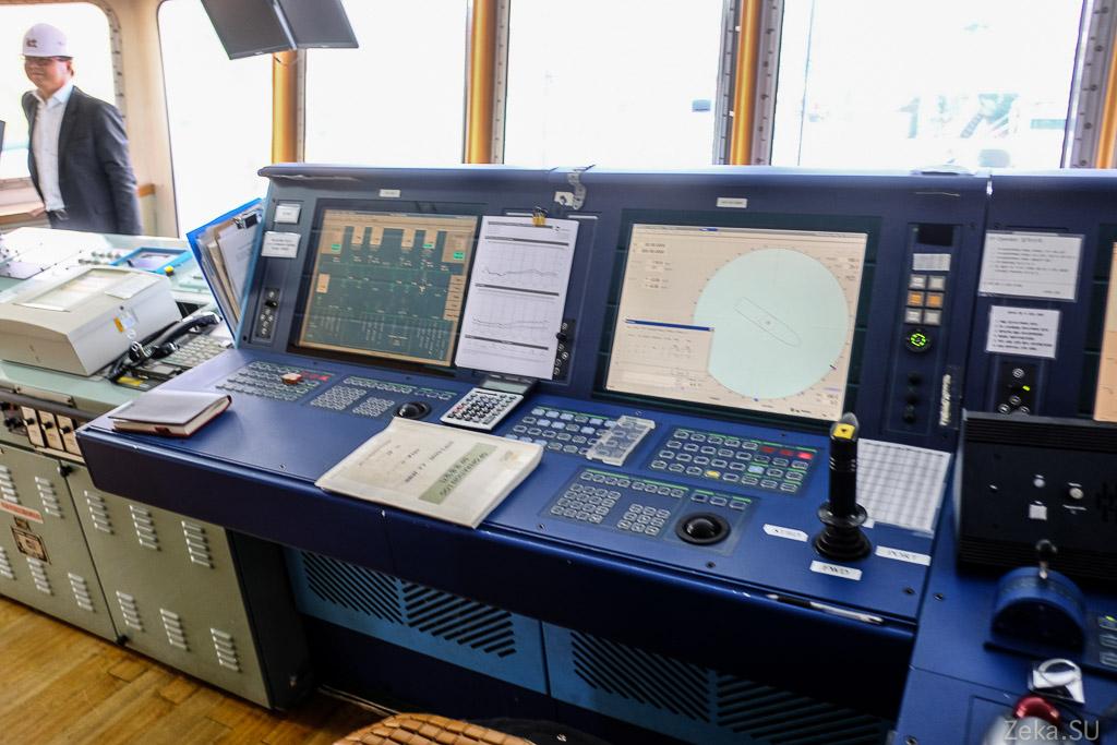 Строительство линии связи Сахалин – Курилы. Экскурсия на Segero — судно-кабелеукладчик - 77