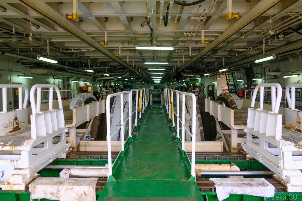 Строительство линии связи Сахалин – Курилы. Экскурсия на Segero — судно-кабелеукладчик - 8