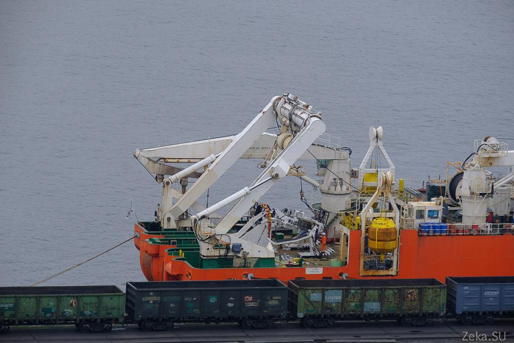 Строительство линии связи Сахалин – Курилы. Экскурсия на Segero — судно-кабелеукладчик - 84