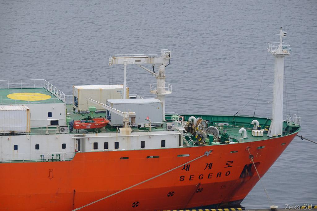 Строительство линии связи Сахалин – Курилы. Экскурсия на Segero — судно-кабелеукладчик - 85