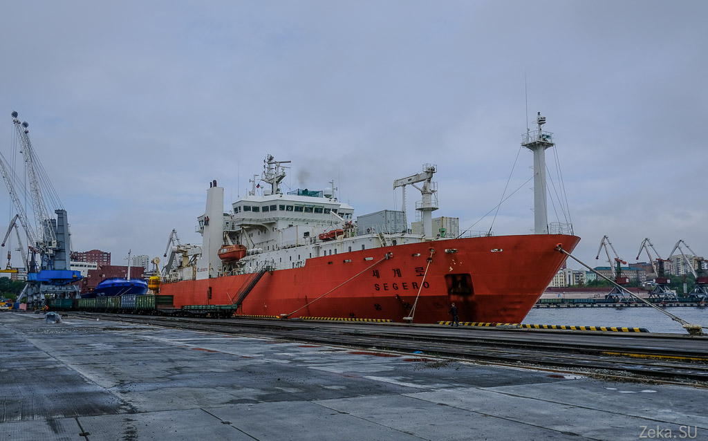 Строительство линии связи Сахалин – Курилы. Экскурсия на Segero — судно-кабелеукладчик - 1