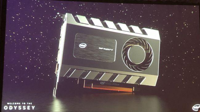 Intel впервые показала свою дискретную видеокарту