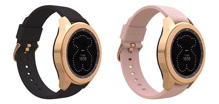Samsung и Tous представили специальное издание умных часов Galaxy Watch