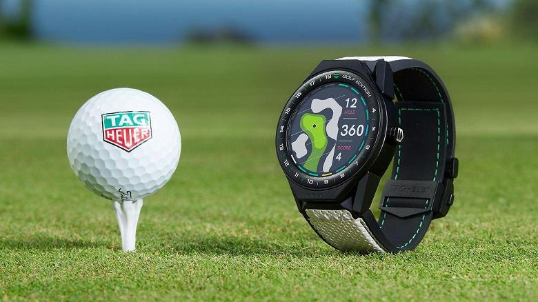 TAG Heuer Connected Modular Golf Edition — умные часы с процессором Intel и ценой 1850 долларов