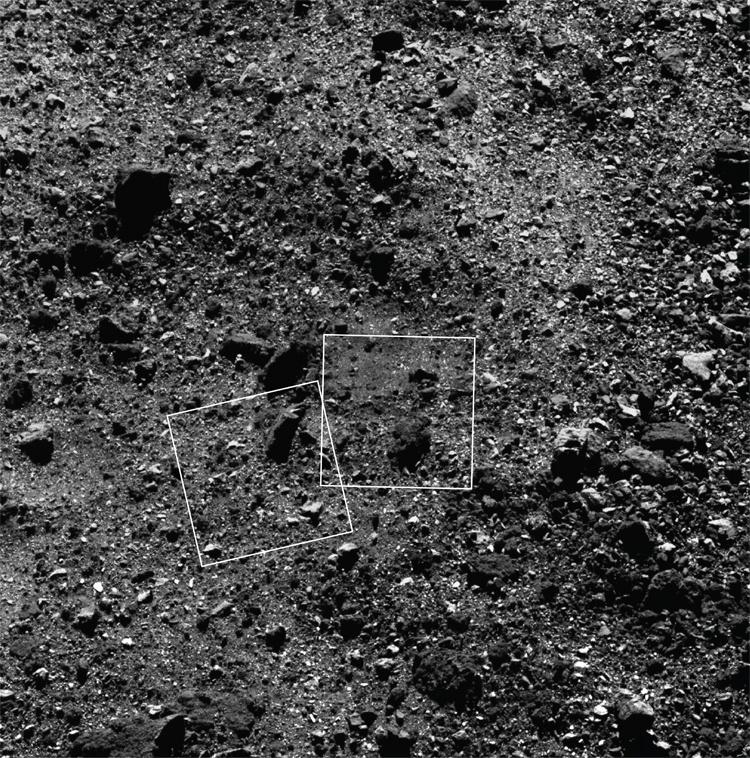 Фото дня: астероид Бенну крупным планом
