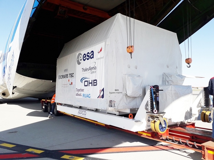 Начинаются испытания посадочной платформы миссии «ЭкзоМарс-2020»
