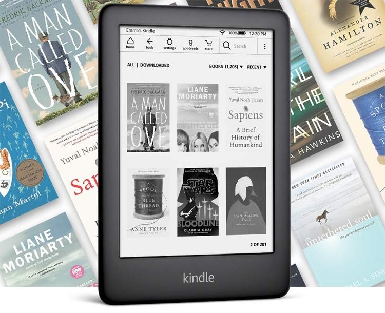 Новый ридер Amazon Kindle с подсветкой стоит