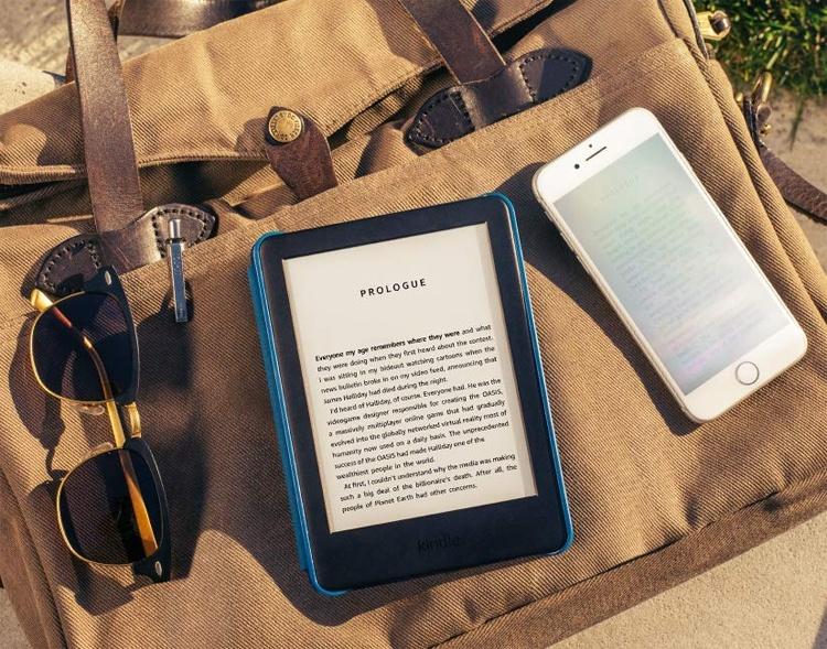 Новый ридер Amazon Kindle с подсветкой стоит $90