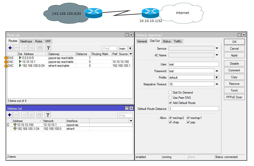 Основы статической маршрутизации в Mikrotik RouterOS - 17