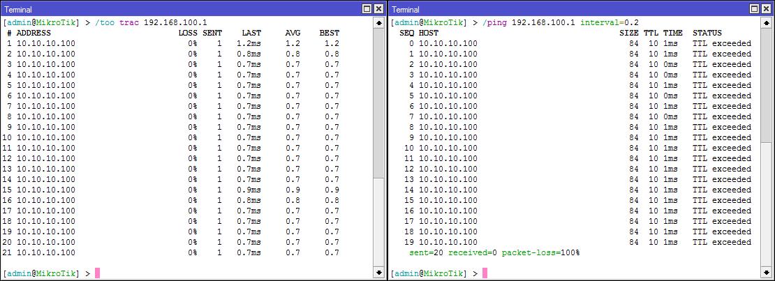 Основы статической маршрутизации в Mikrotik RouterOS - 21