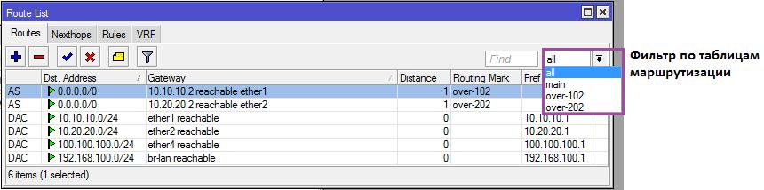 Основы статической маршрутизации в Mikrotik RouterOS - 23