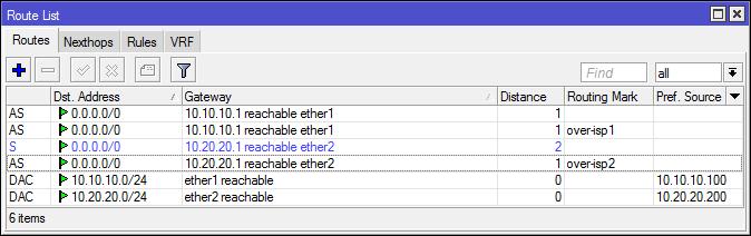 Основы статической маршрутизации в Mikrotik RouterOS - 32