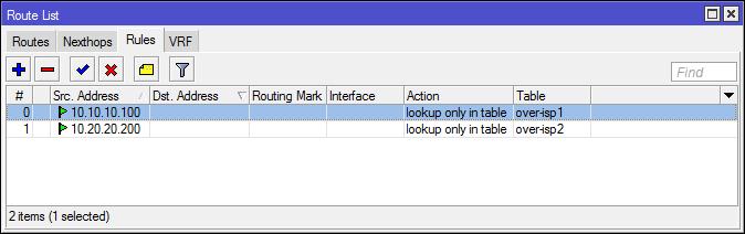 Основы статической маршрутизации в Mikrotik RouterOS - 33
