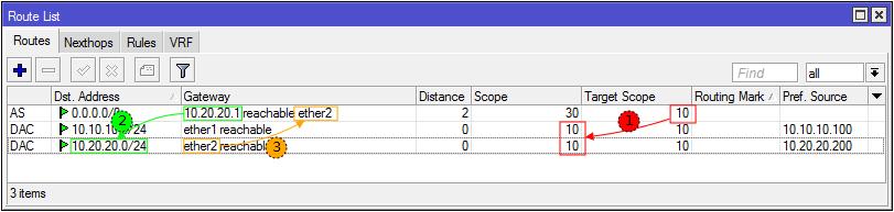 Основы статической маршрутизации в Mikrotik RouterOS - 47
